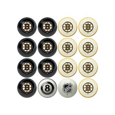 NHL Boston Bruins Home & Away Billiard Ball Set