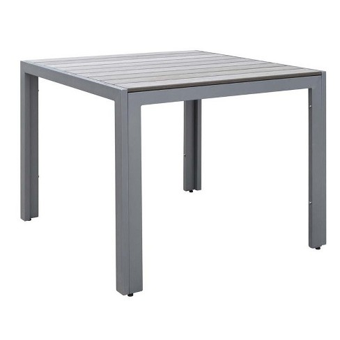 """Gallant 36"""""""" Square Patio Dining Table in Sun Bleached Gray - CorLiving - image 1 of 3"""