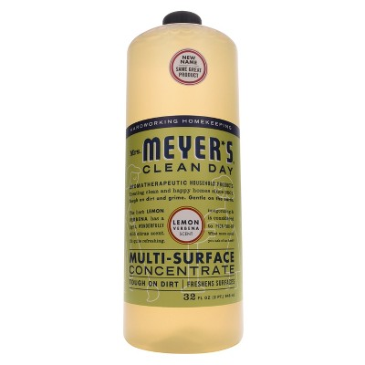 Mrs. Meyer's Lemon Verbena Multi-Surface Concentrate - 32 fl oz