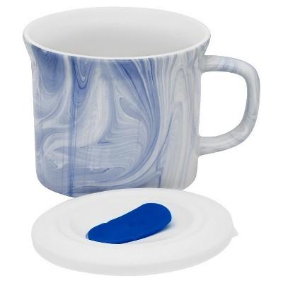 Corningware Portable Beverage Mug Blue