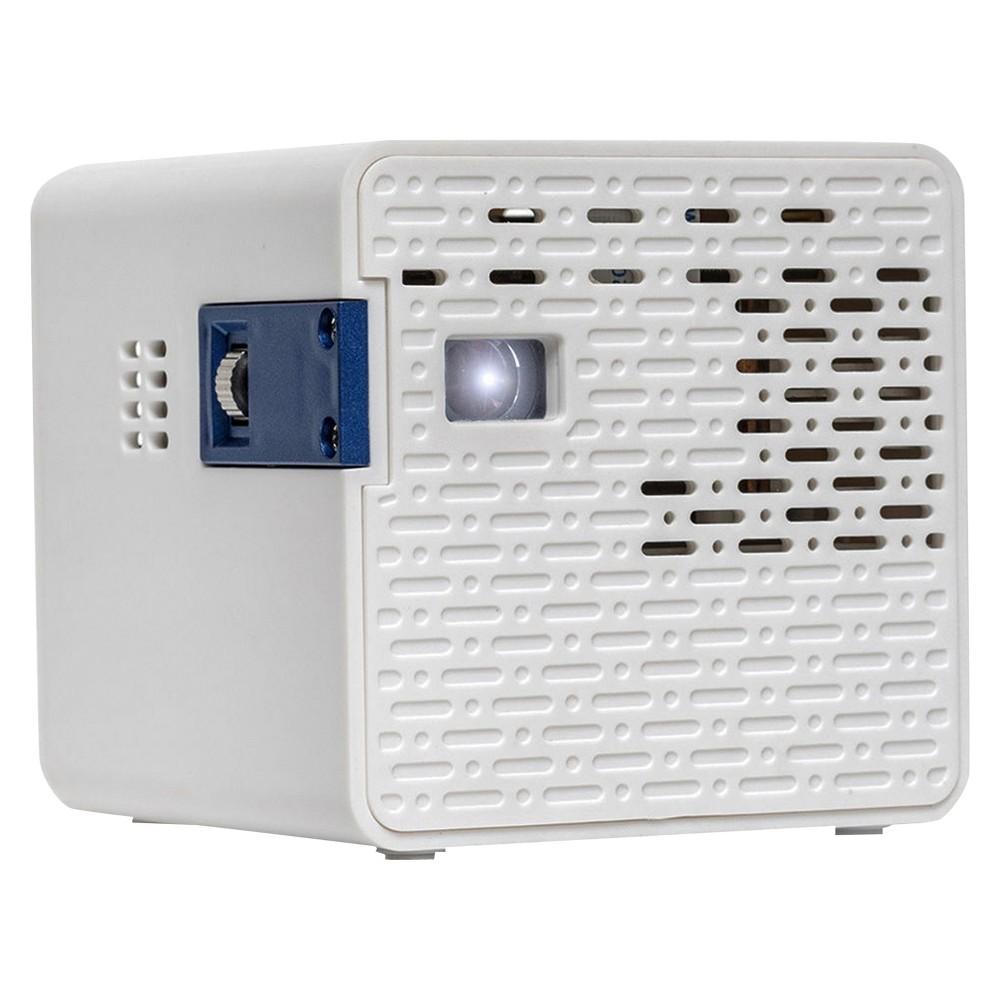 Image of Aaxa Technologies HD Pico 50-Lumen HD Led Pico Projector - White (KP-102-01)