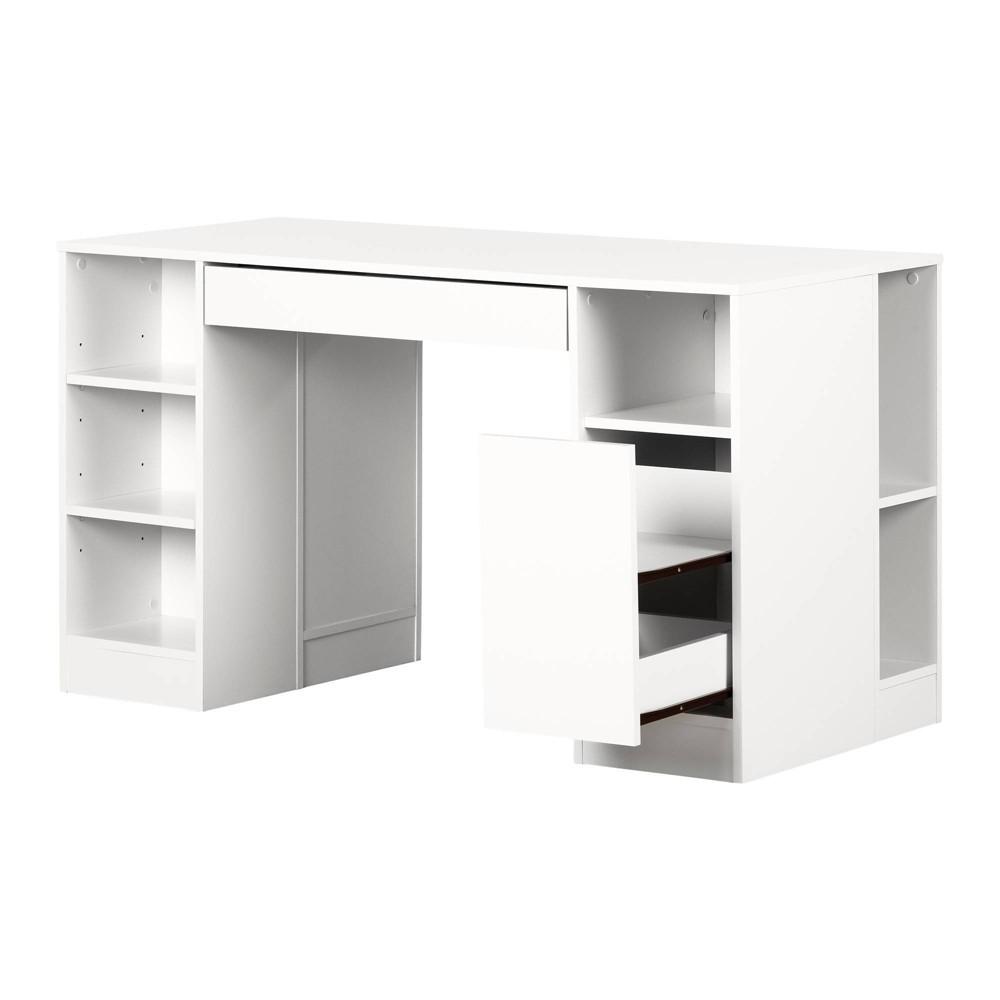 Image of Crea Craft Table - Pure White - South Shore