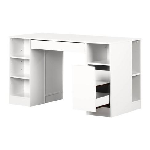 Crea Craft Table - Pure White - South Shore - image 1 of 4