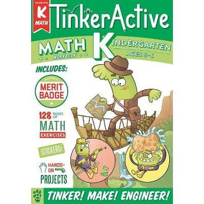 Kindergarten Math -  (Tinkeractive Workbooks) by Nathalie Le Du (Paperback)