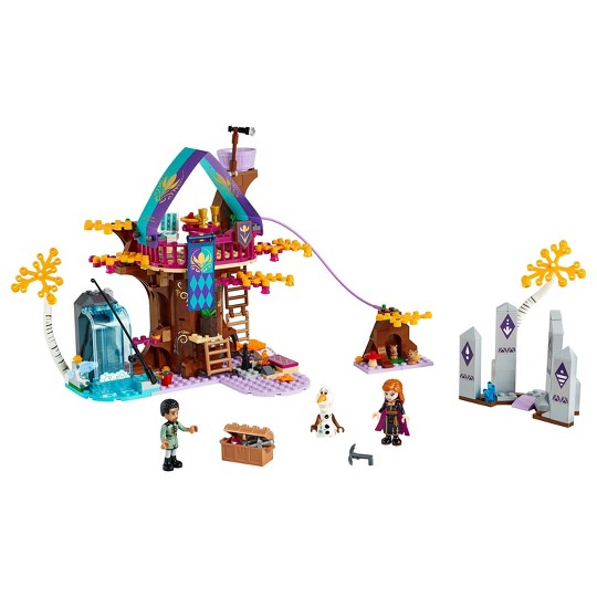 LEGO Disney Princess Frozen 2 Enchanted Treehouse 41164 Toy Treehouse Building Kit for Pretend Play image number null
