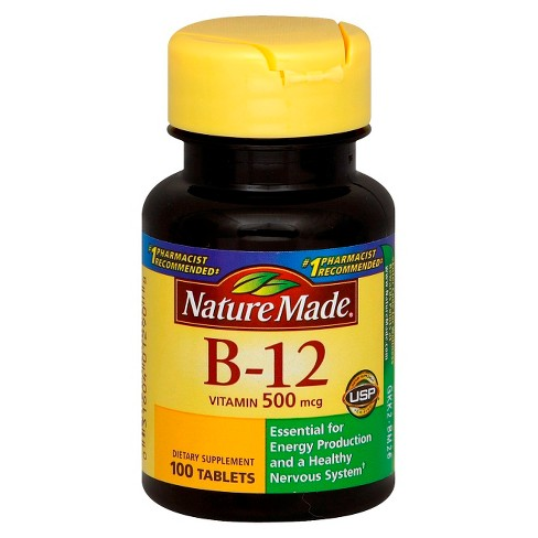 Nature Made Vitamin B-12 Dietary Supplement Tablets - 100ct - image 1 of 1