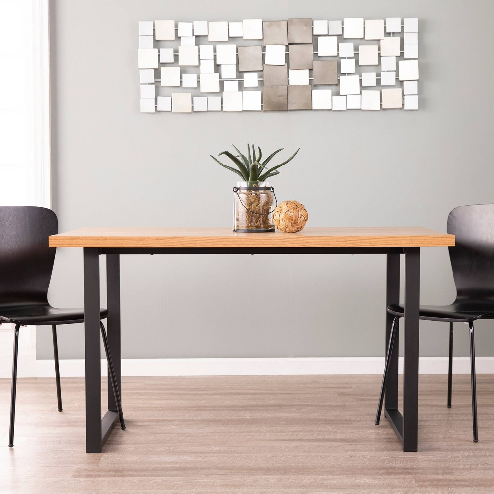 Image of Brayland Small Space Dining Table Brown/Black - Holly & Martin, Black Brown