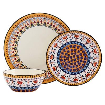 12pc Marseille Dinnerware Set - Tabletops Gallery