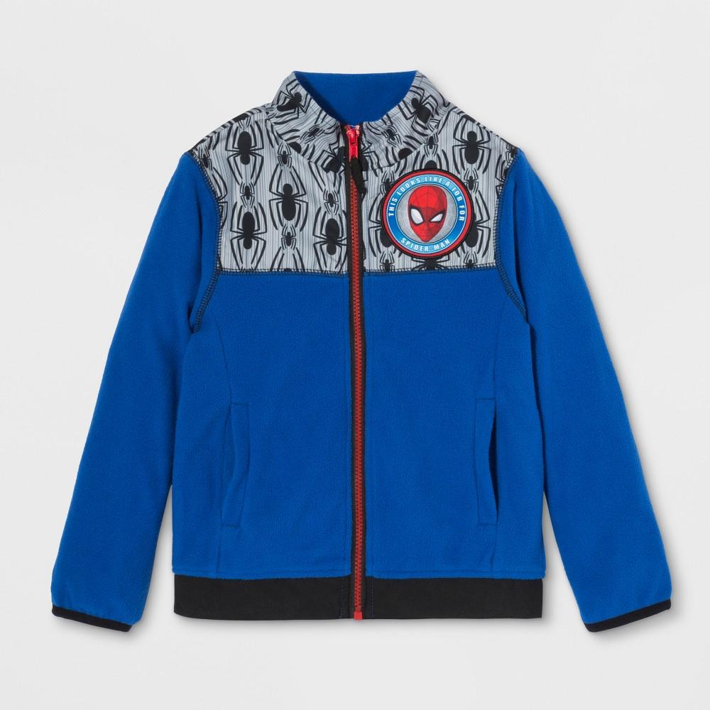 Boys' Spider-Man Fleece Jacket - Blue 6