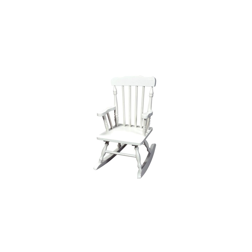 Image of Kids' Colonial Rocking Chair - White