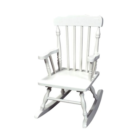 Awe Inspiring Kids Colonial Rocking Chair White Dailytribune Chair Design For Home Dailytribuneorg