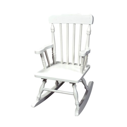 Kids' Colonial Rocking Chair - White