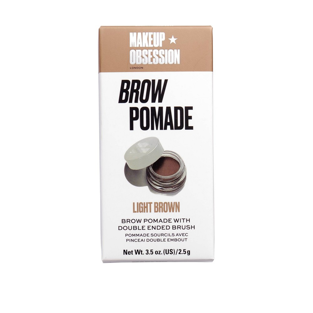 Image of Makeup Obsession Brow Pomade Light Brown - 3.5oz