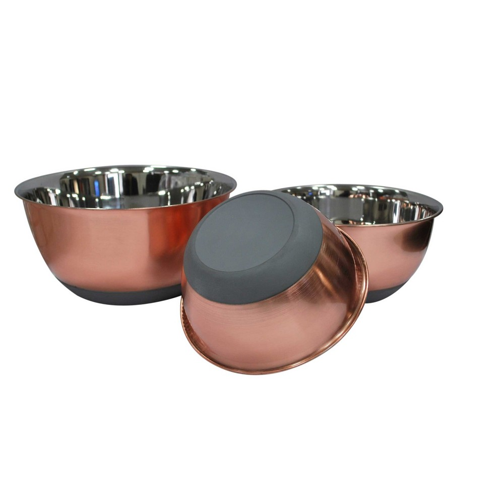Copper (Brown) Mixing Bowls (Set of 3) - Threshold
