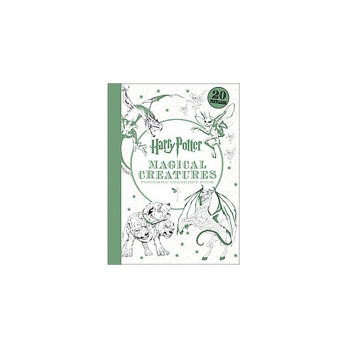 About This Item Details Shipping Returns QA Twenty Postcards Featuring Stunning Artwork From The Bestselling Harry Potter Creatures Coloring Book