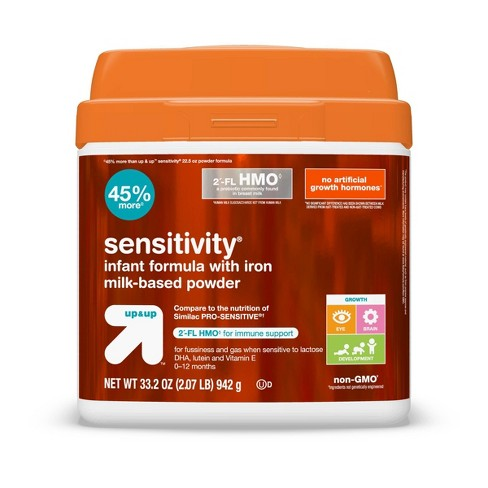Sensitivity HMO Infant Formula with Iron Powder - 33.2oz - Up&Up™ - image 1 of 4