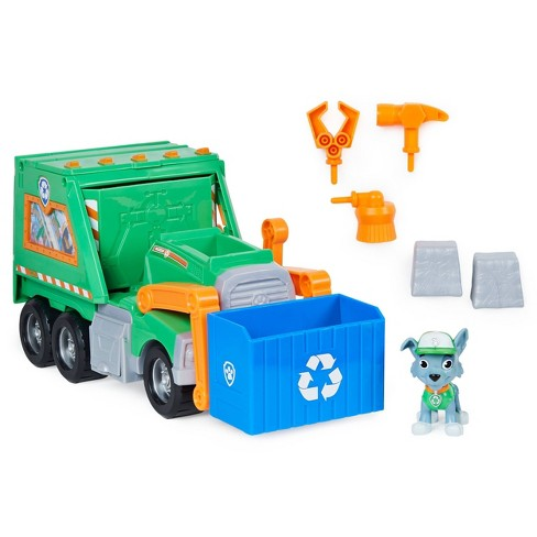 PAW Patrol Rocky's Reuse It Truck with Figure and 3 Tools - image 1 of 4