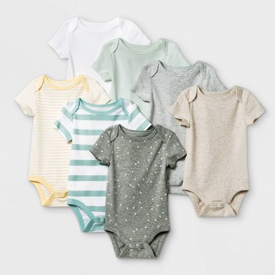 Baby 7pk Basics Bodysuits - Cloud Island™