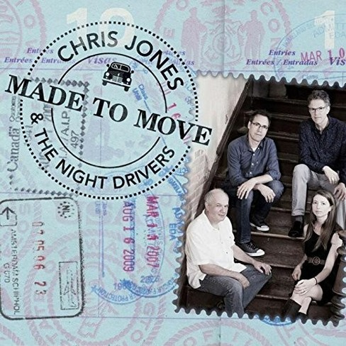 Chris & The N Jones - Made To Move (CD) - image 1 of 1
