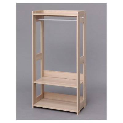 IRIS Compact Wood Garment Rack Natural