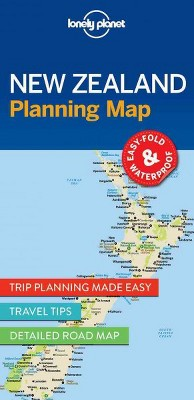 lonely planet new zealand planning map paperback target rh target com Lonely Planet USA Lonely Planet USA