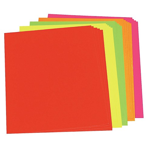 Pacon Neon Poster Board - Assorted Color - image 1 of 1