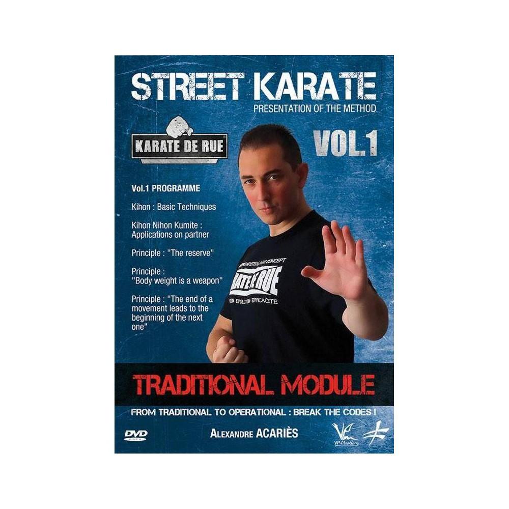 Street Karate Volume 1: Traditional Module (DVD) Cheap