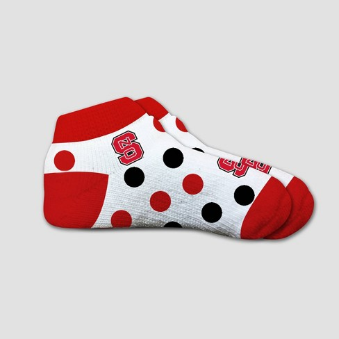 NCAA NC State Wolfpack Polka Dot Infant Socks 2T-4T - image 1 of 1