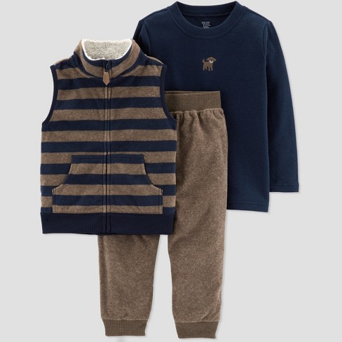 d84a759c9 Toddler Boys  3pc Stripe Dog Set - Just One You® Made By Carter s ...