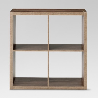 "4-Cube Organizer Shelf Natural 13"" - Threshold™"