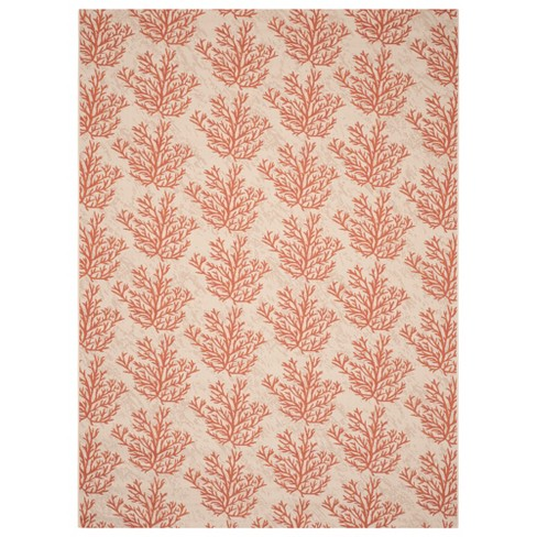 Torcy Rectangle 8 X 11 Outer Patio Rug Beige