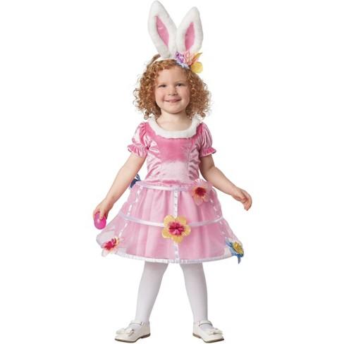 Toddler Girls' Easter Bunny Basket Costume - Spritz™ - image 1 of 2