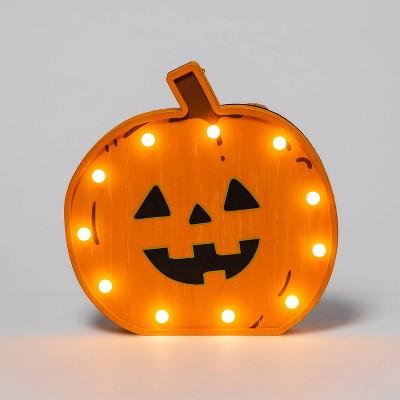 Pumpkin Light Bulb Halloween Decorative Prop - Hyde & EEK! Boutique™