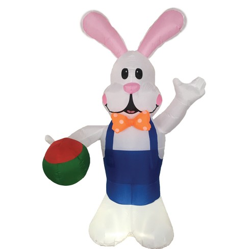 Easter 7ft Inflatable Bunny with Egg - image 1 of 1