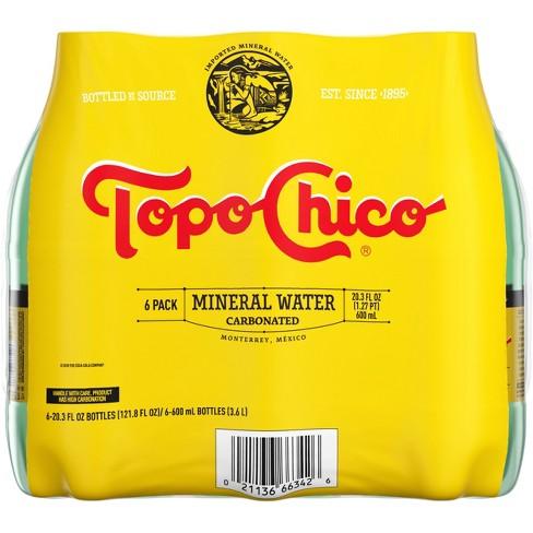 Topo Chico Sparkling Water - 6pk/20 fl oz Bottles - image 1 of 4