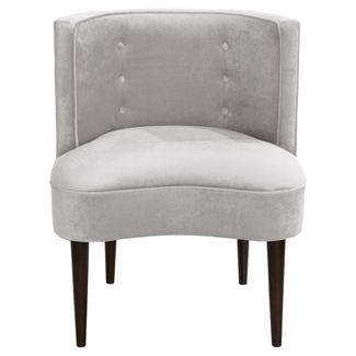 Clary Curved Back Accent Chair Mystere Dove - Opalhouse™