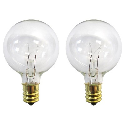 2Pk Clear G40 Replacement Bulbs - Room Essentials™