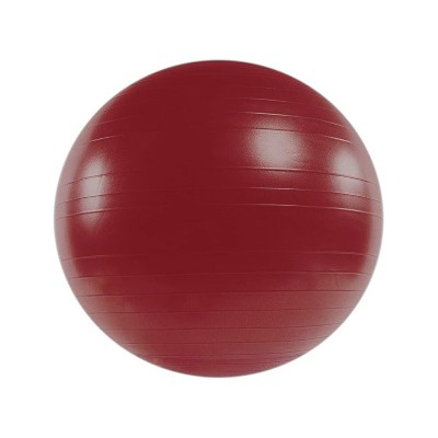 Power Systems Versa Ball Pro Exercise and Stability Ball for Balance, Core, and Posture Workouts at Gym, Home, or Office, 55 Centimeters, Red