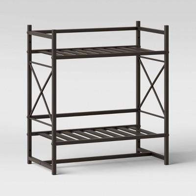 Square Tube Decorative Wall Shelf Bronze - Threshold™