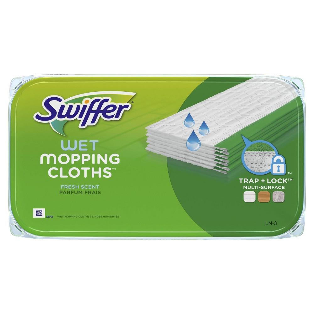 Swiffer Sweeper Wet Mopping Cloths Open Window Fresh 12ct