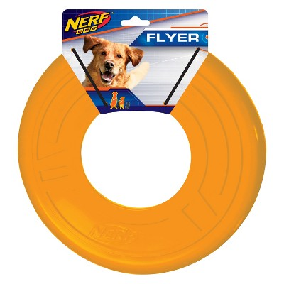 NERF Atomic Flyer Dog Toy - Orange