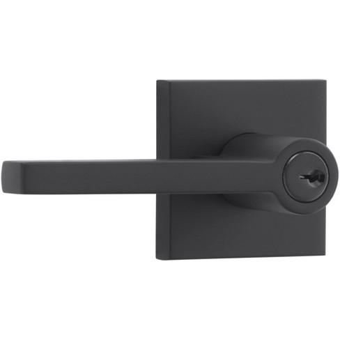 Baldwin EN.SQU.CSR Square Single Cylinder Keyed Entry Door Lever Set - image 1 of 4