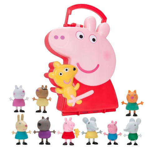 Peppa Pig Carry Along Friends - 10pc - image 1 of 3