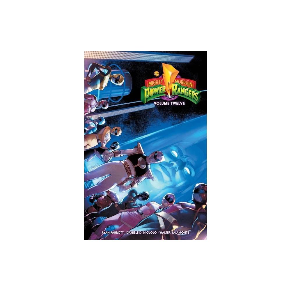 Mighty Morphin Power Rangers Vol 12 Volume 12 By Ryan Parrott Paperback