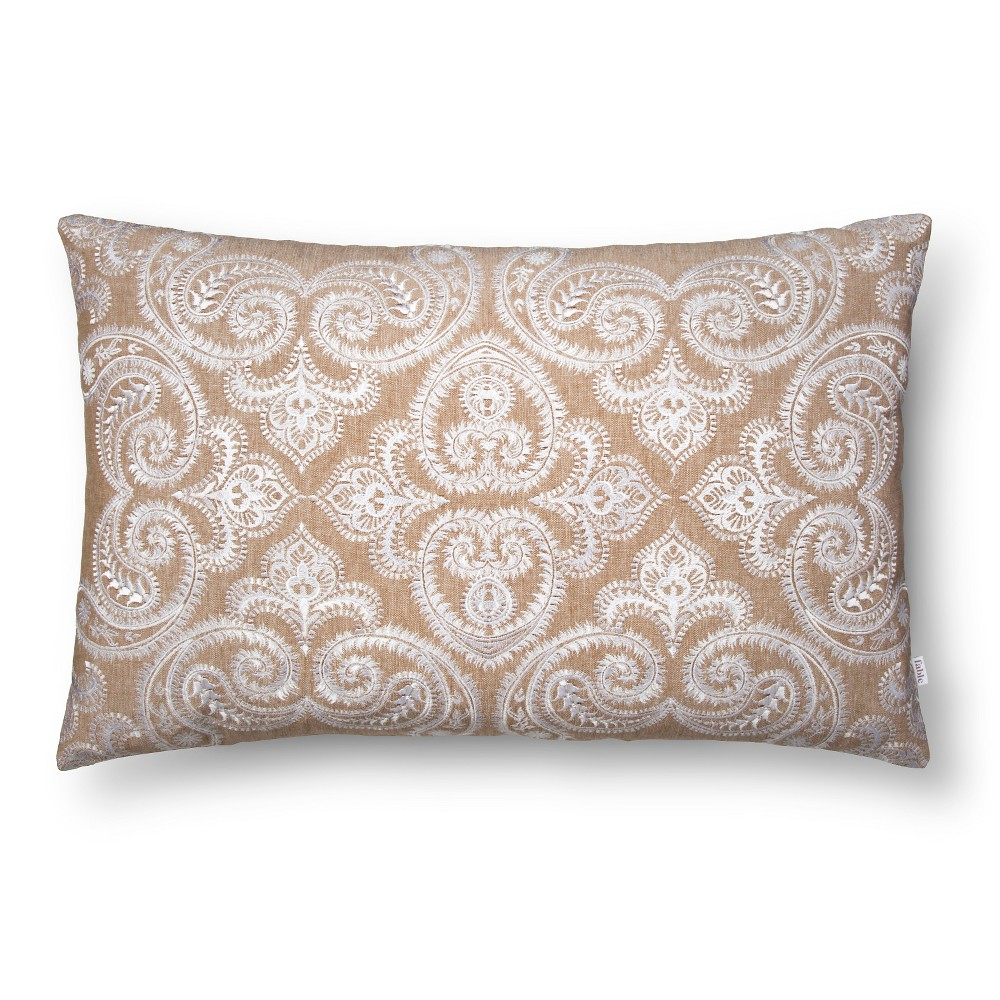 Sezanne Throw Pillow (24X16) Linen - Fable was $49.99 now $17.5 (65.0% off)