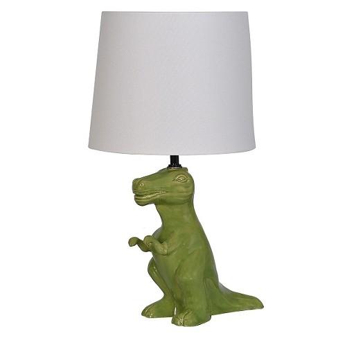 Dinosaur Table Lamp Green - Pillowfort™ - image 1 of 2