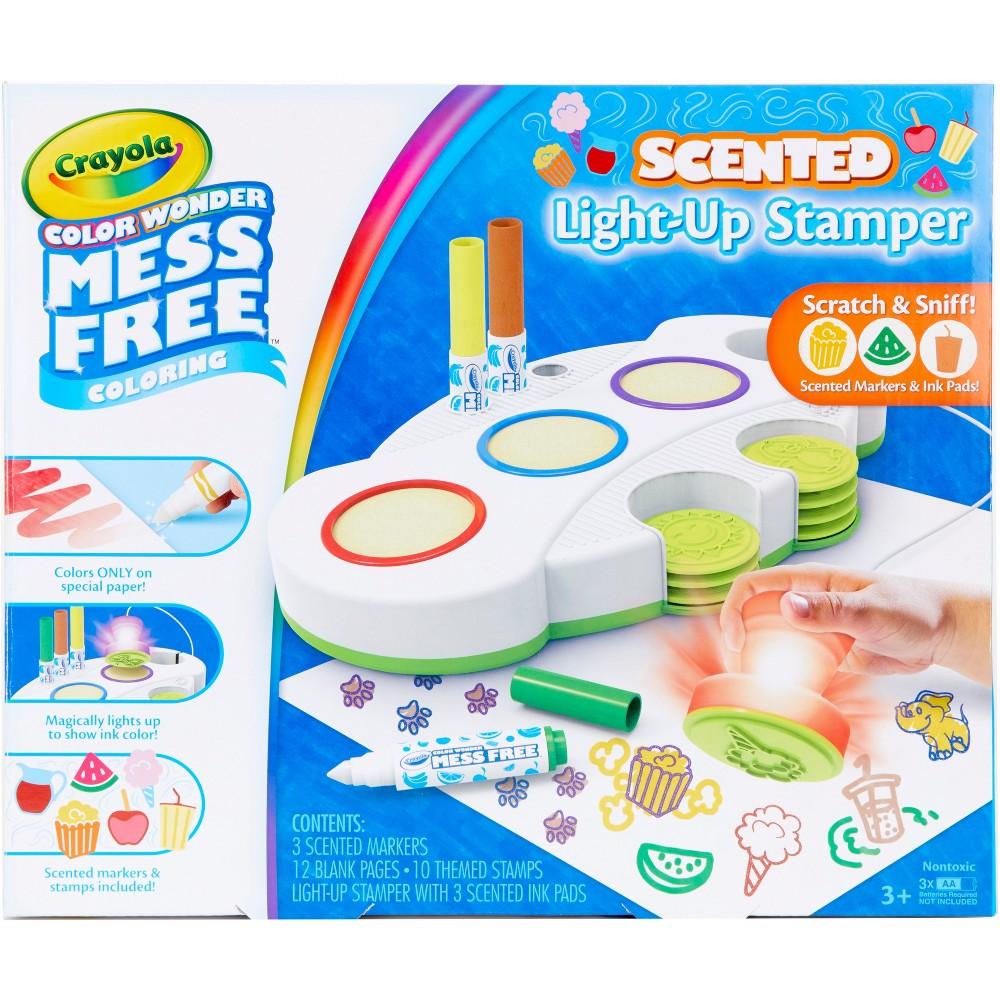 Crayola Color Wonder Scented Light Up Stamper Activity Kit