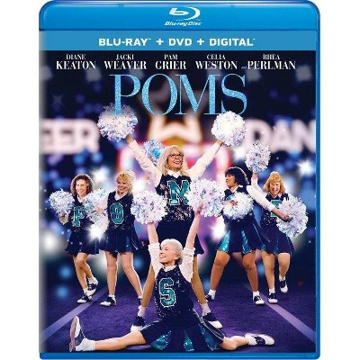 Poms (Blu-ray + DVD + Digital)