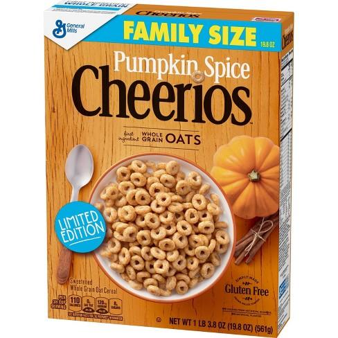Pumpkin Cheerios Family Size - 19.8oz - image 1 of 3