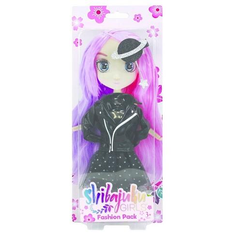 Shibajuku Doll Outfit, Black - image 1 of 1